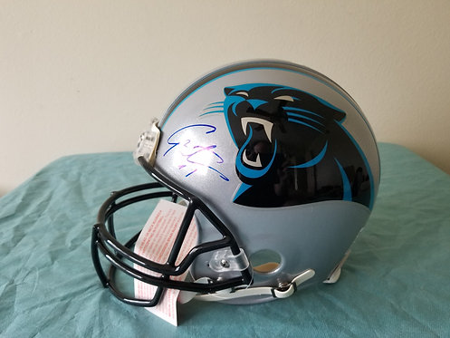 Cam Newton Autographed Full Size Helmet