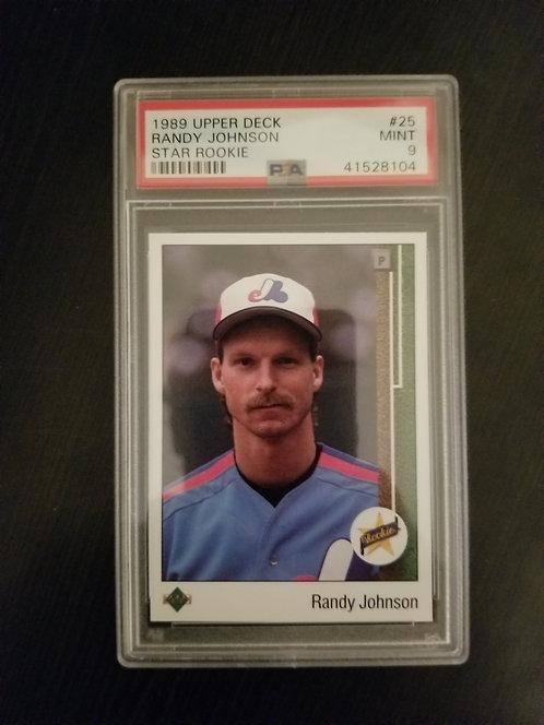 1989 Upper Deck Randy Johnson