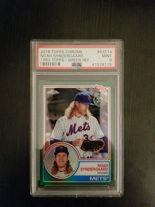 2018 Topps Chrome Noah Syndergaard