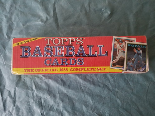 1988 Topps Complete Set
