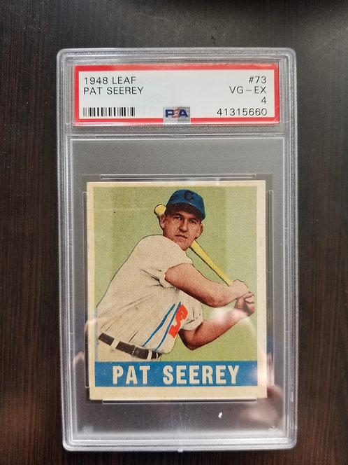 1948 Leaf Pat Seerey