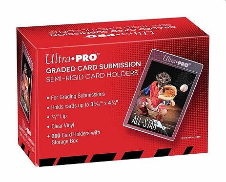 ULTRA PRO: CARD HOLDER - SEMI-RIGID GRADED CARD SUBMISSION SIZE 43000