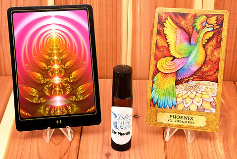 THE PHOENIX_Personal Essential Oil Blend