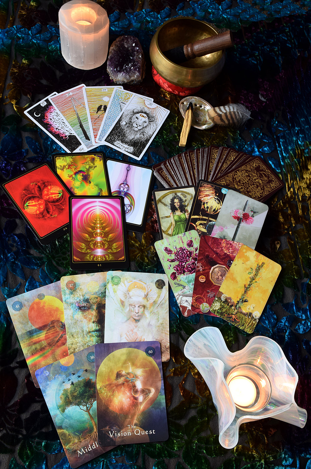 1 Card Reading with 2 Clarifier Cards