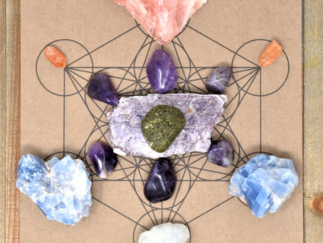 Metatron's Cube Healing Grid for Grief