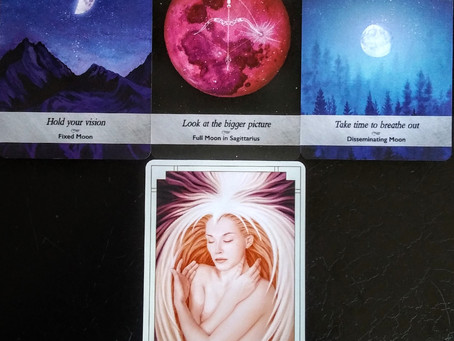 Stop and Listen - Full Super Moon in Virgo
