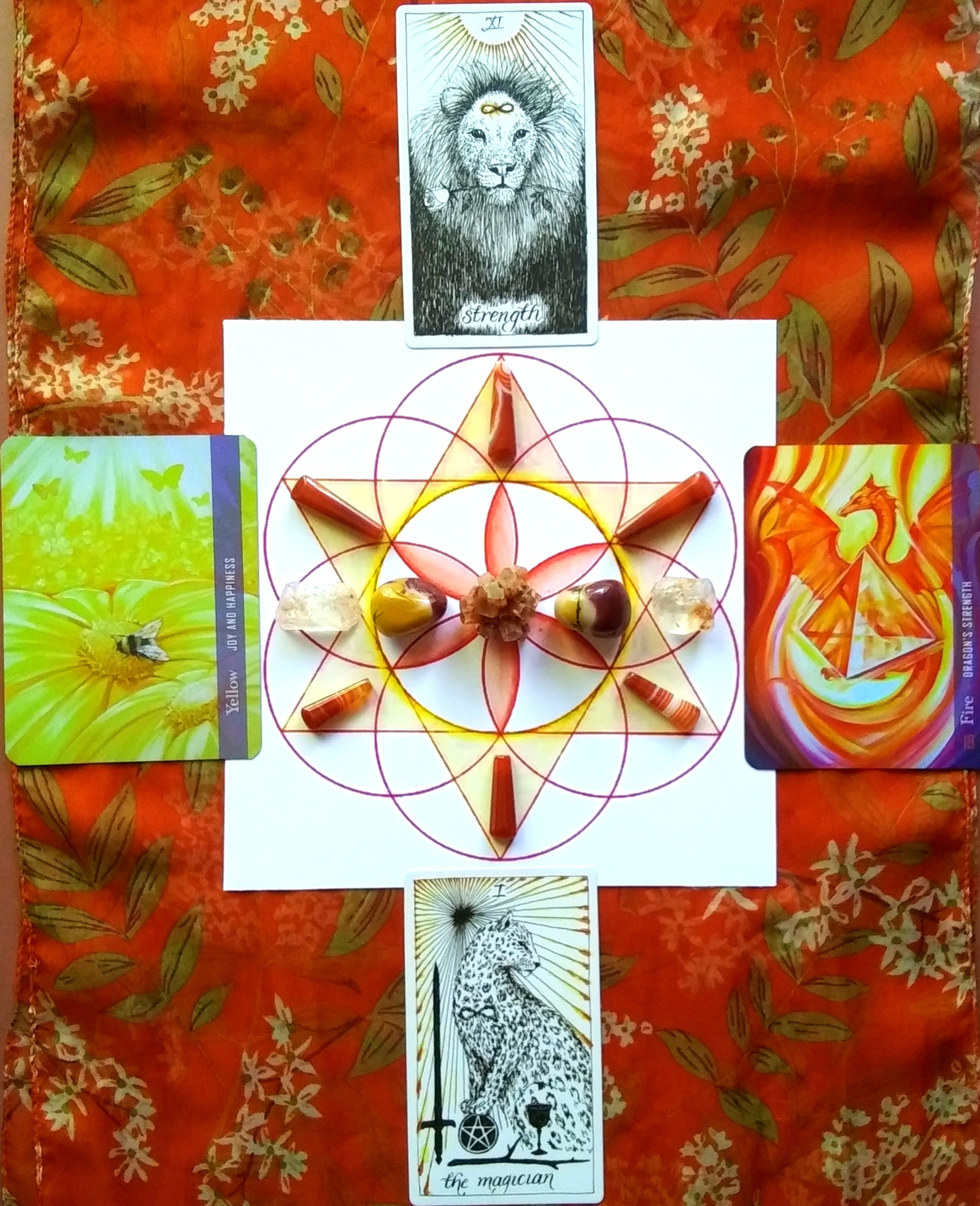 Crystal Grid for Self-Empowerment - 1