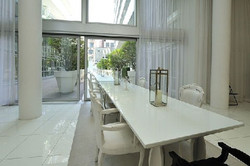 Condo Lobby Voile Sheers