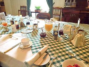 Mallard Grange Breakfast Table