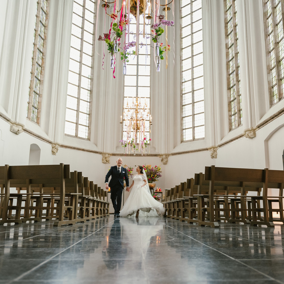 Weddingshoot Geertruidskerk