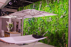 Artificial greenwall fairstand 2019