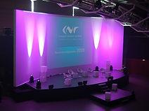 Evenementiel convention led in scene vidéo lumière