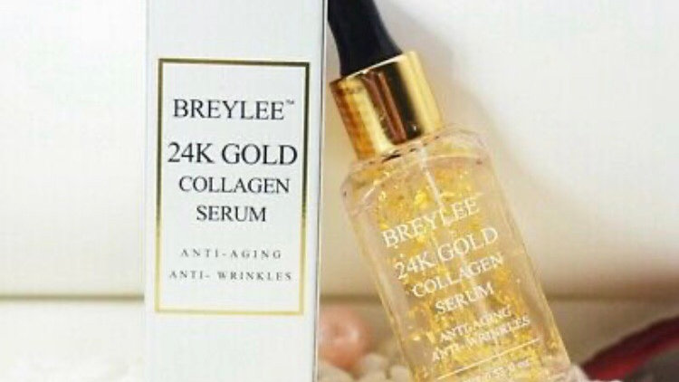 BREYLEE 24K Gold Collagen Anti-Aging Serum