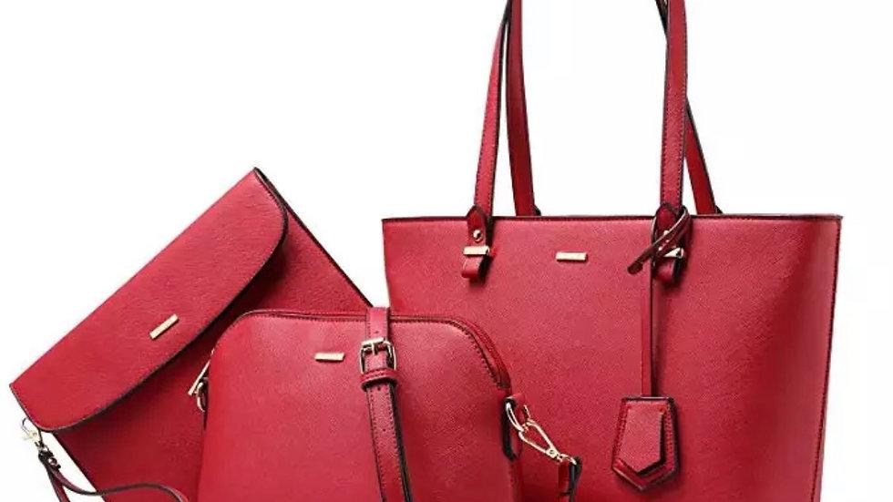 Lovebook Handbags for Women Shoulder Bags Tote Satchel Hobo 3pcs Purse Set