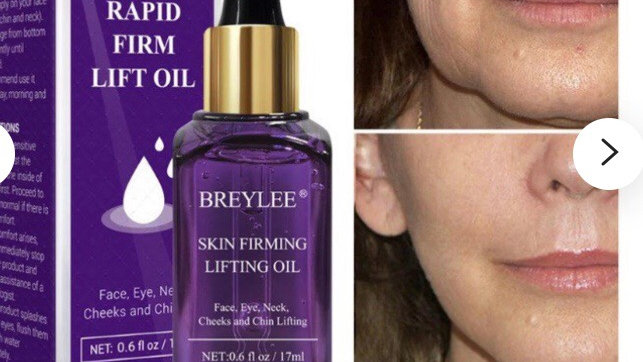 Breylee Skin Firming Lifting Oil