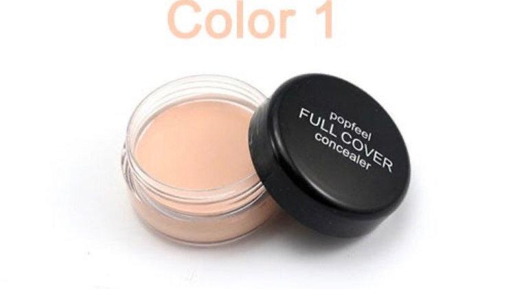 Popfeel Women High Coverage Concealer Waterproof Long Lasting Face Makeup Founda