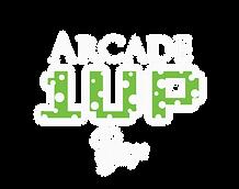 1 Up Arcade Bar Logo White- Round copy.p