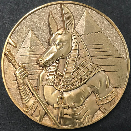 Mythic Coins - Anubis front