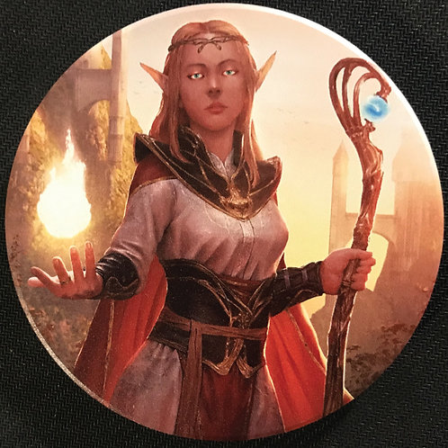 Elven Mage Coasters, Set of 8
