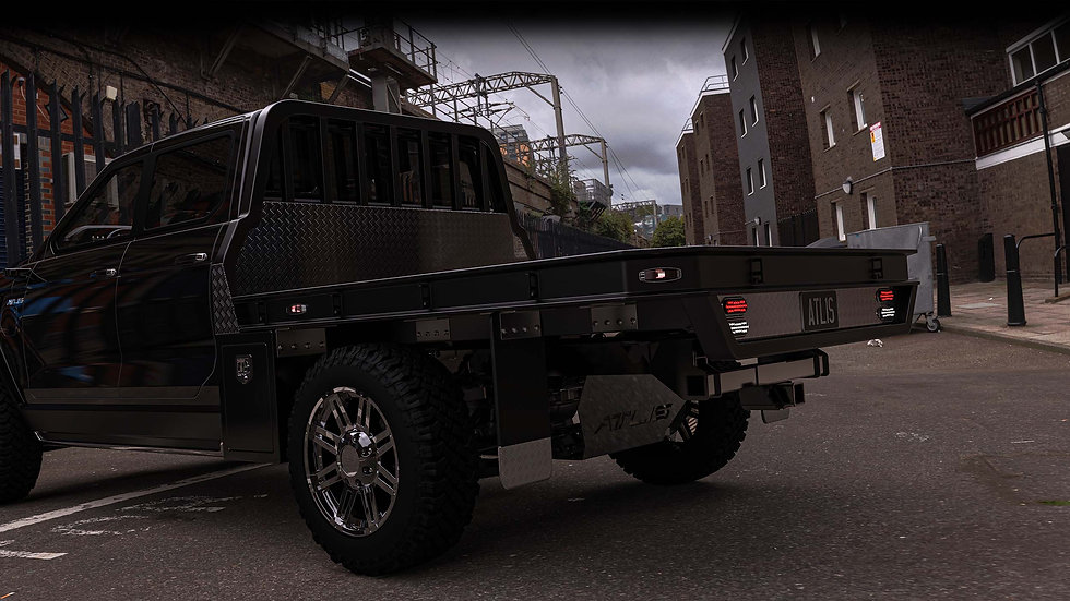 Atlis XT Pick Up Truck Back View