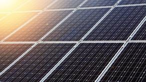 SOLAR PANELS ON AN EV