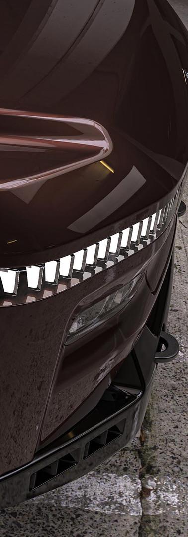 Atlis XT headlights