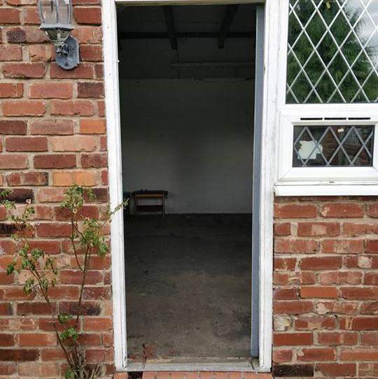 Original doorway,