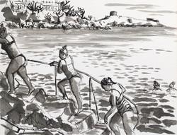 Vico Bathers I