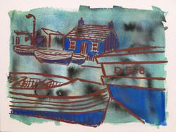 Blue Cottage, Bullock Harbour
