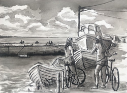 Converstations at Bullock Harbour