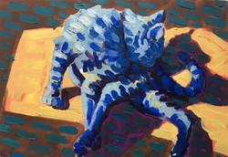 Der Blaue Katze