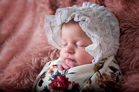 Newborn photography- vintage set, little bear upcycle