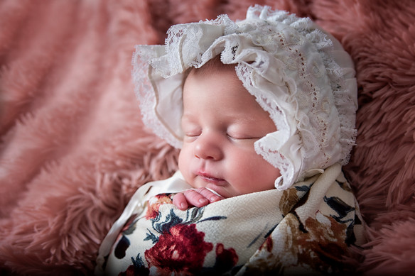 Newborn photography- vintage set, little bear upcycle