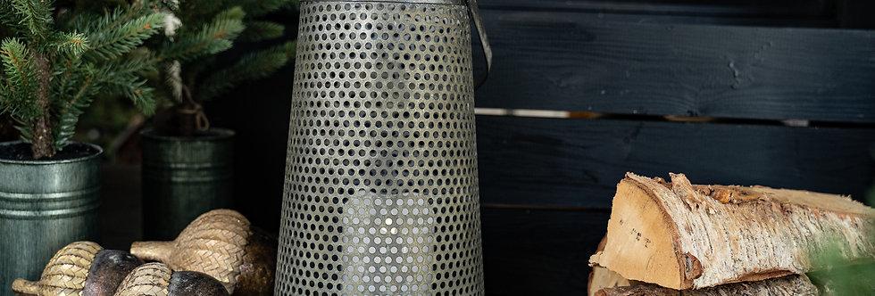 Lanterne m. hullmønster
