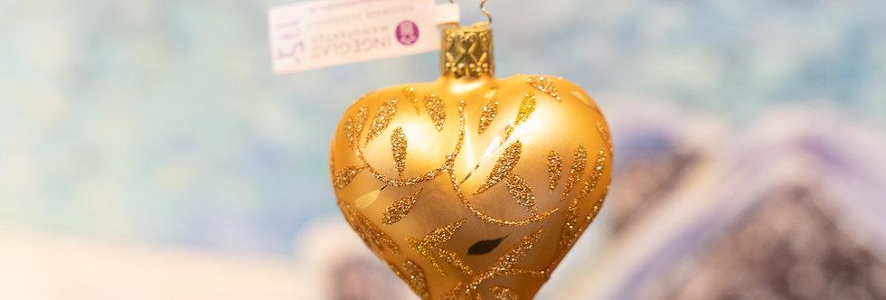 Juletrepynt - Hjerte