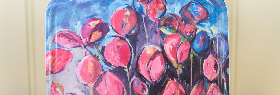 Frokostbrett - tulipaner