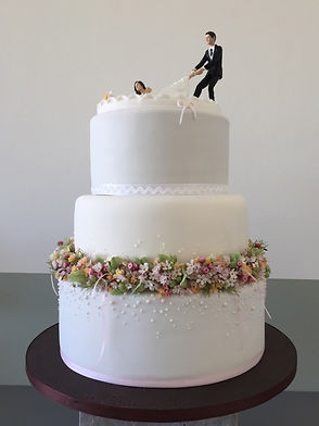 himmelrosa Hochzeitstorten