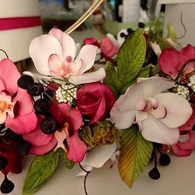 himmelrosa Zuckeblumen