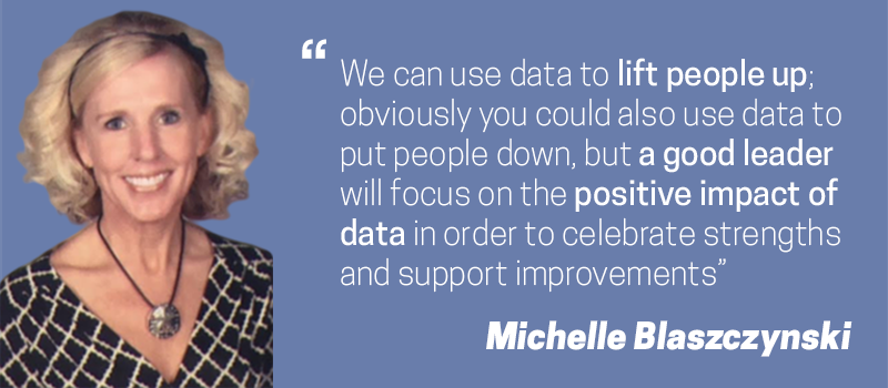 Michelle Blaszczynski Shares Her Thought On Leadership and Data