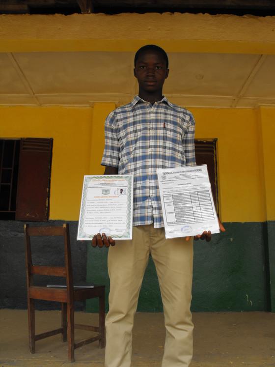 The power of education: Desmond Sannoh