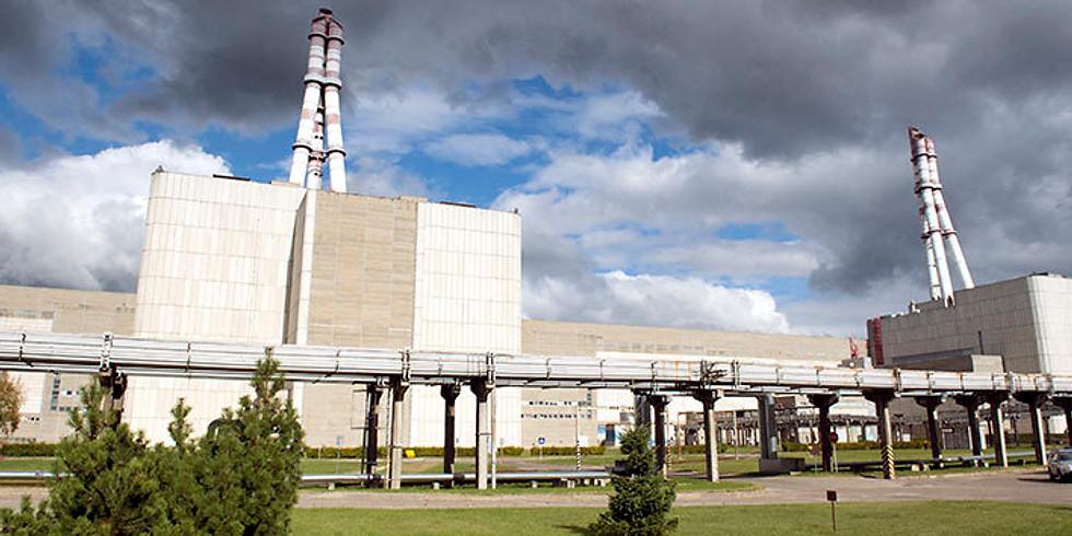Visiting Ignalina power plant