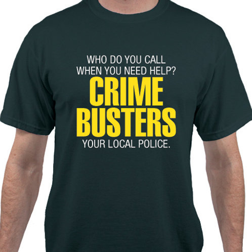 Pack of 12:  CRIME BUSTERS