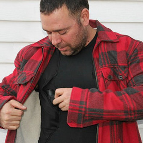 Concealed Carry Shirt w/Armor Pockets