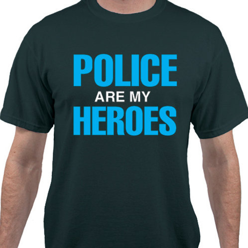 Pack of 12:  POLICE Are My HEROES
