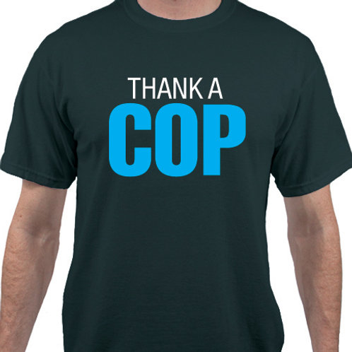 Pack of 12:  Thank a COP