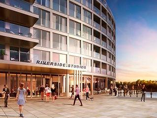 Queens Wharf - Riverside Studios entranc