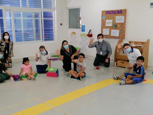 Conozca las medidas de higiene y seguridad con que funcionan los jardines infantiles de la Junji