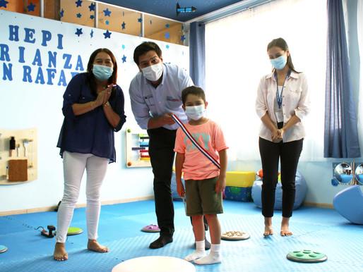 Seremi Desarrollo Social inaugura salas de apoyo a la crianza en San Javier y San Rafael
