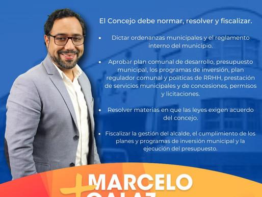 Candidato a Concejal Marcelo Galaz y su tarea educativa de cara a las elecciones de abril