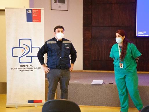 Médico del Maule contó su experiencia de apoyo en Magallanes para enfrentar la pandemia